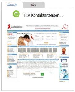 HIV Kontaktanzeigen